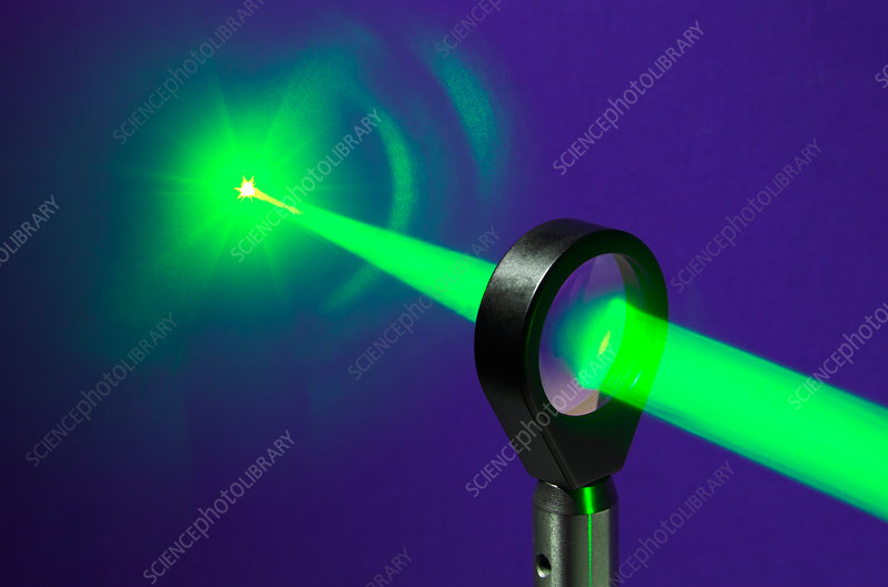Focusing Laser Light