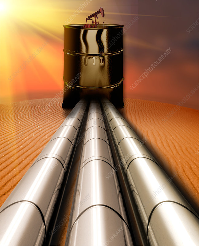 Oil Pipelines and Oil Drum