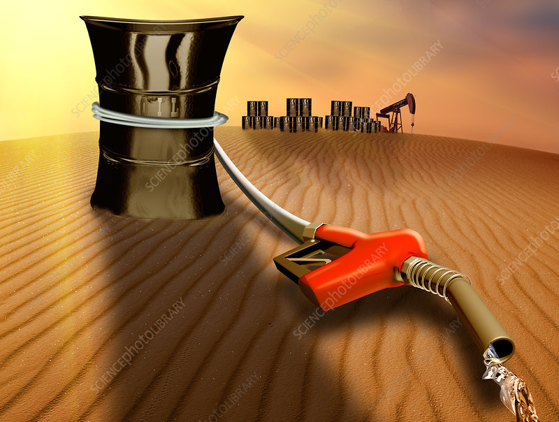 Oil Supplies Running Dry
