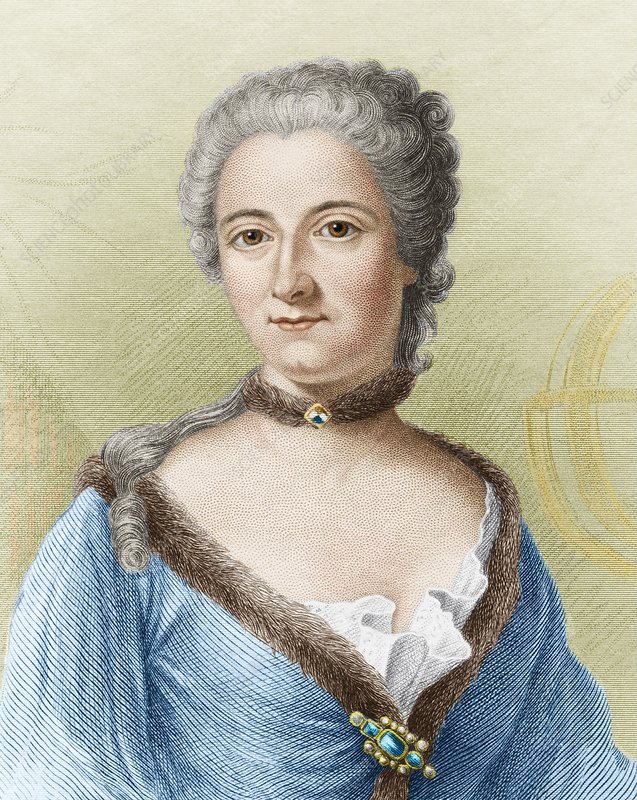 Emilie du Chatelet, French physicist