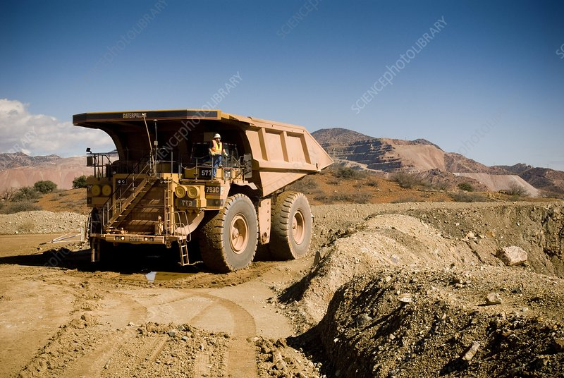 Mining truck, Arizona, USA