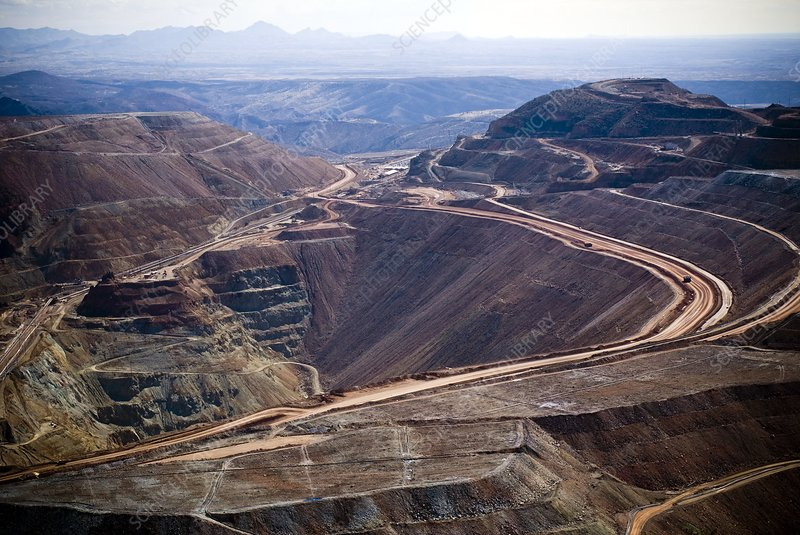 Copper mine, Arizona, USA