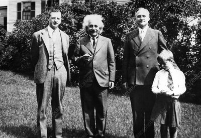 Menzel, Einstein and G Birkhoff