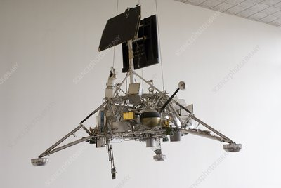 Surveyor lunar lander test model