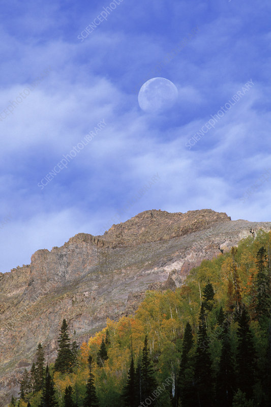 Moon & Mountain