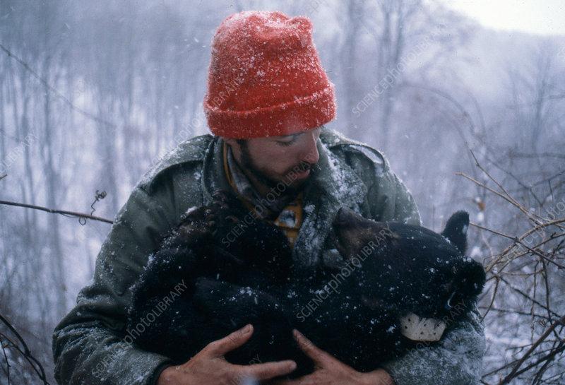 Biologist & Bear Cub