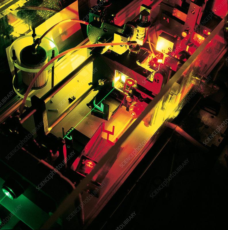 Detail of Laser Apparatus