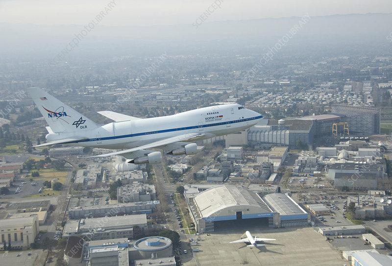 SOFIA flying observatory