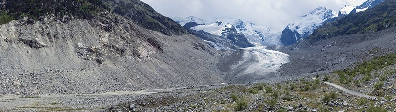 Morteratsch glacier, Switzerland