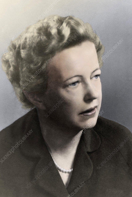 Maria Goeppert-Mayer 1963 Nobel Prize