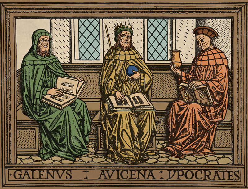 'Galen, Avicenna and Hippocrates'