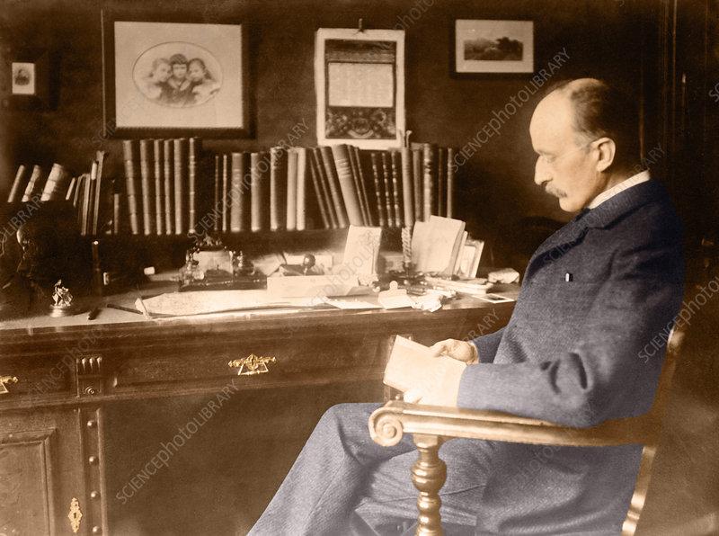 'Max Planck, German physicist'