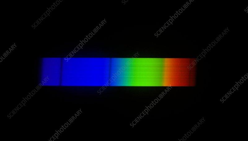 Sirius emission spectrum
