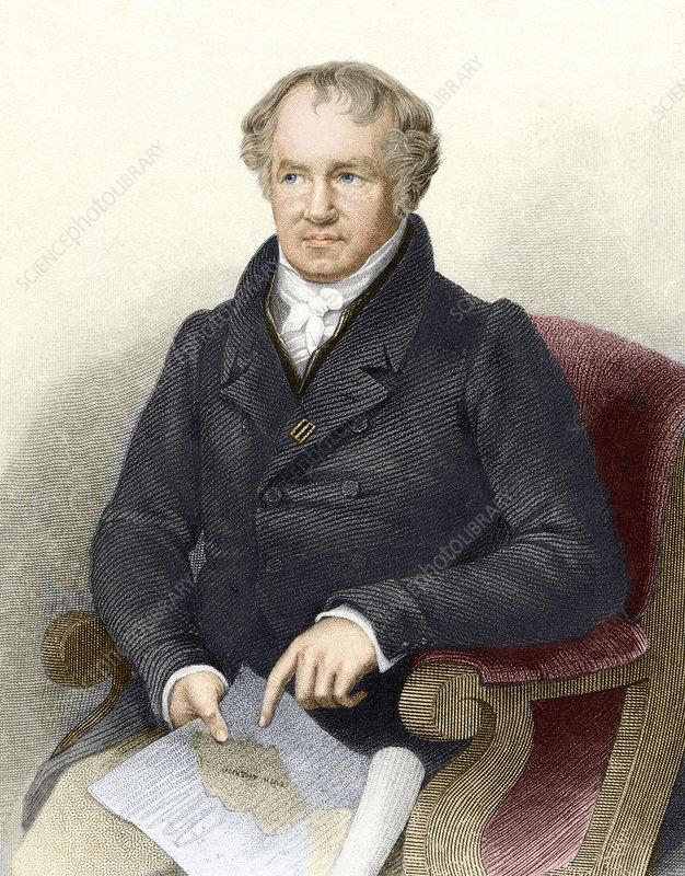 Alexander von Humboldt, German naturalist