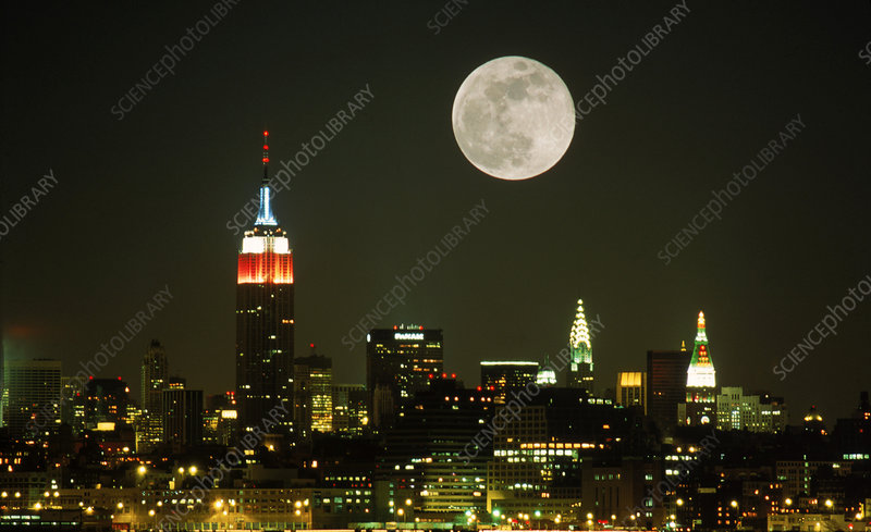 NYC & Full Moon