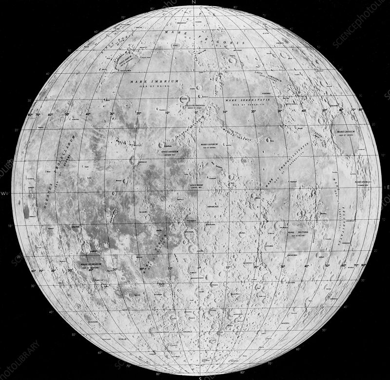 Map of Moon