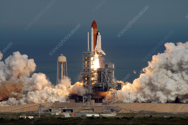 STS-122 launch