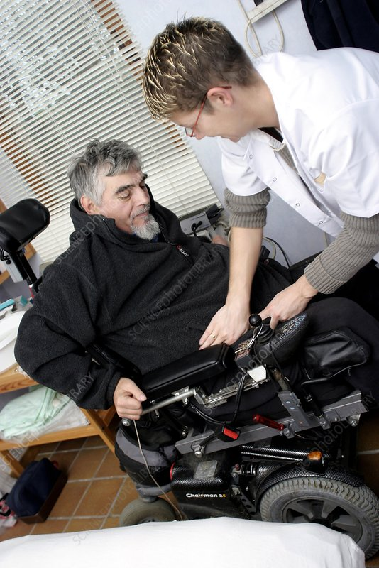 Home help for disabled person
