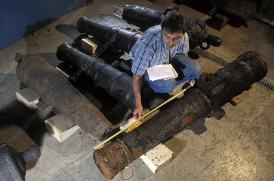 18th-century cannons