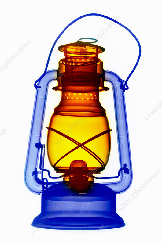 X-ray of a Kerosene Lantern