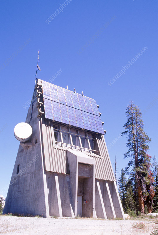 Solar Powered Control Facility