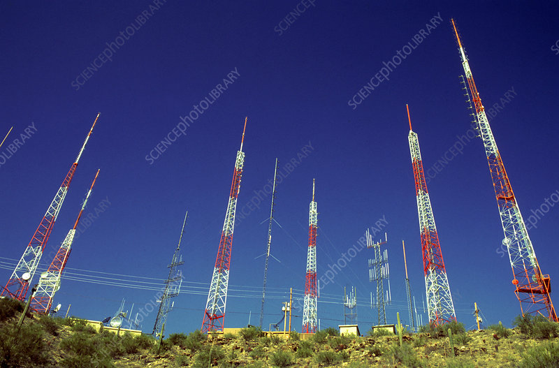 Radio TV Transmission Towers