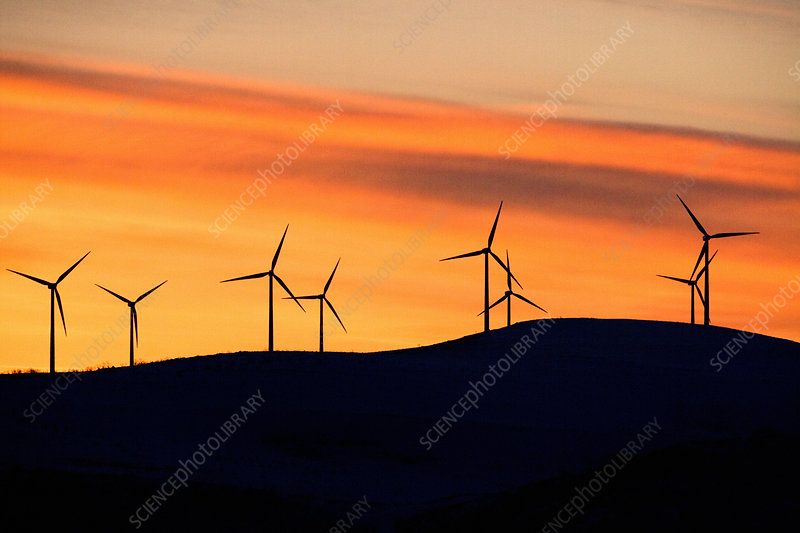 Wind Farm in Wyoming