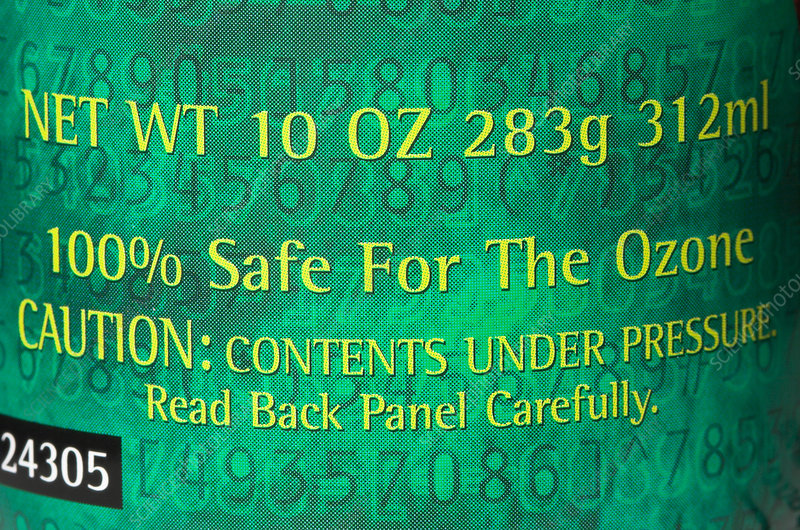 Ozonesafe Product Label