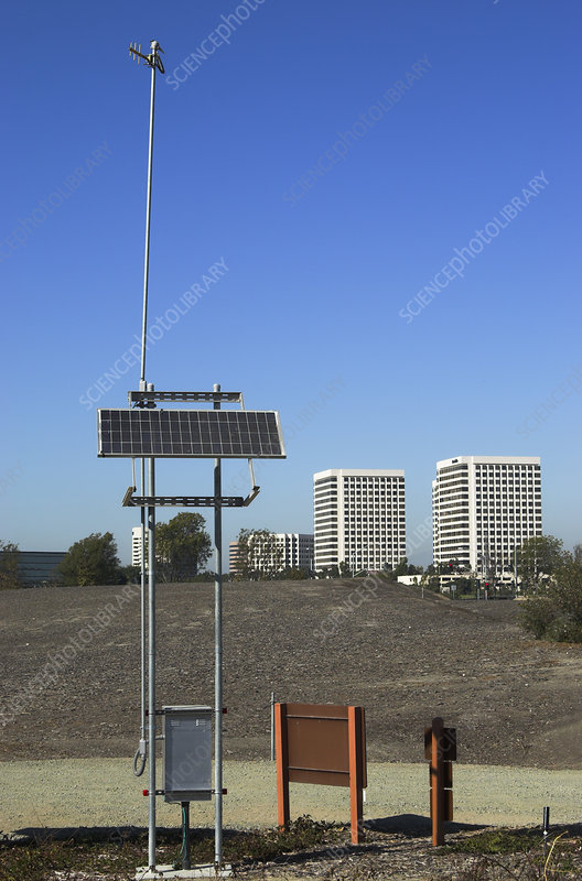 Solar Powered Monitoring Equipment