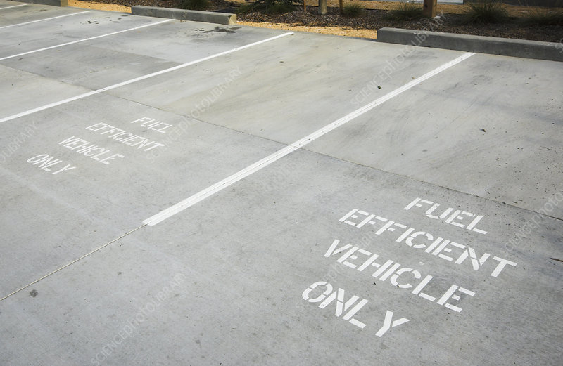 Parking for Fuel Efficient Vehicles