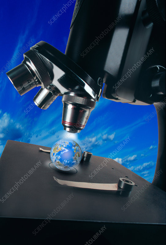 Earth under Microscope