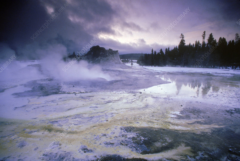 'Hot Springs, Yellowstone, NP'