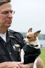 Smallest police dog in the world