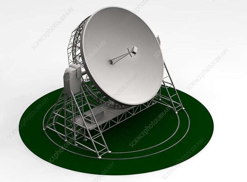 Lovell radio telescope, artwork
