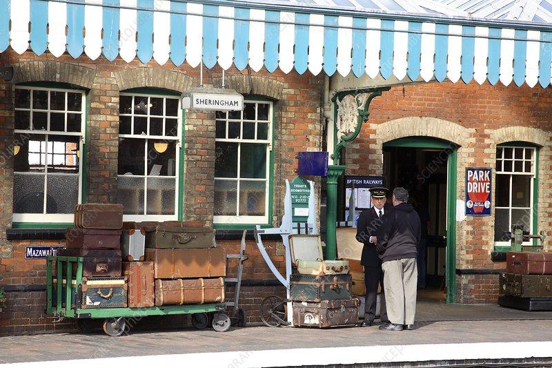 Restored railway station