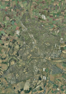 Peterborough, aerial image