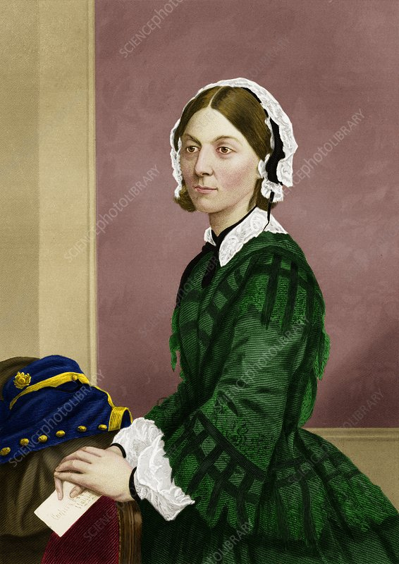 Florence Nightingale, nursing pioneer