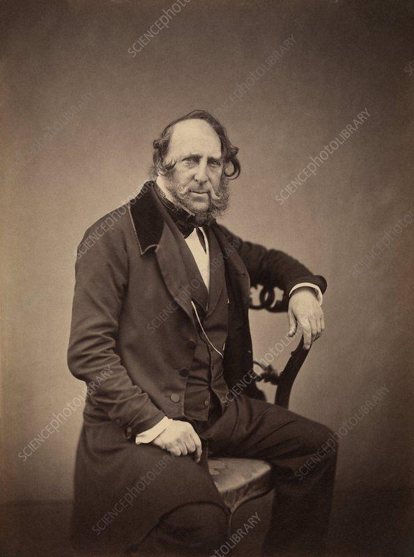 George Cruikshank, English caricaturist
