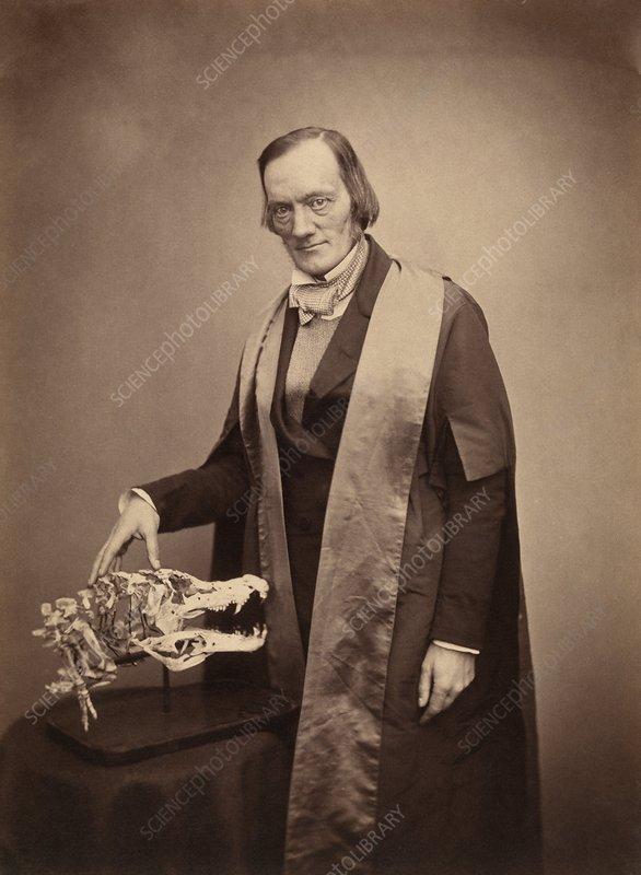 Richard Owen, English biologist
