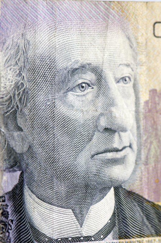 Ten-dollar Canadian banknote