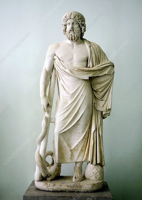 Roman statue of Asclepius