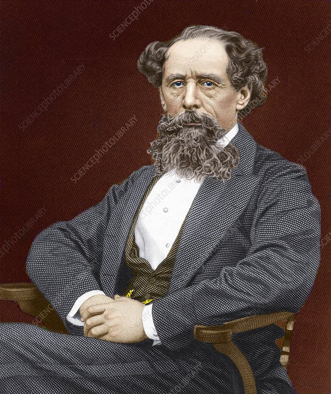 Charles Dickens, British author