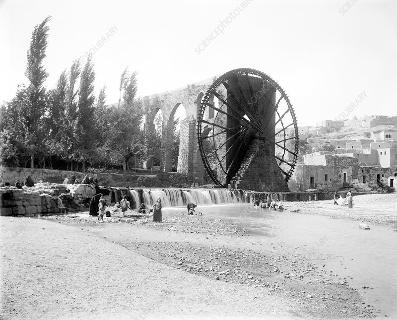 Water wheel, Syria
