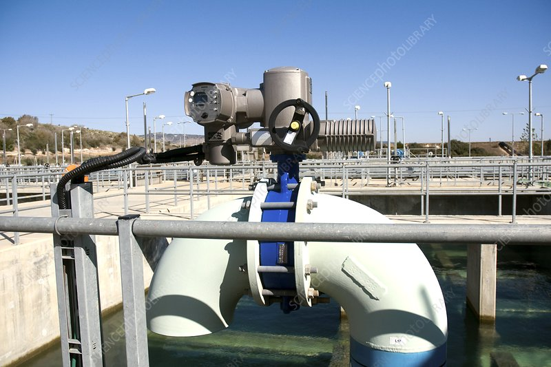 Water treatment plant, Israel