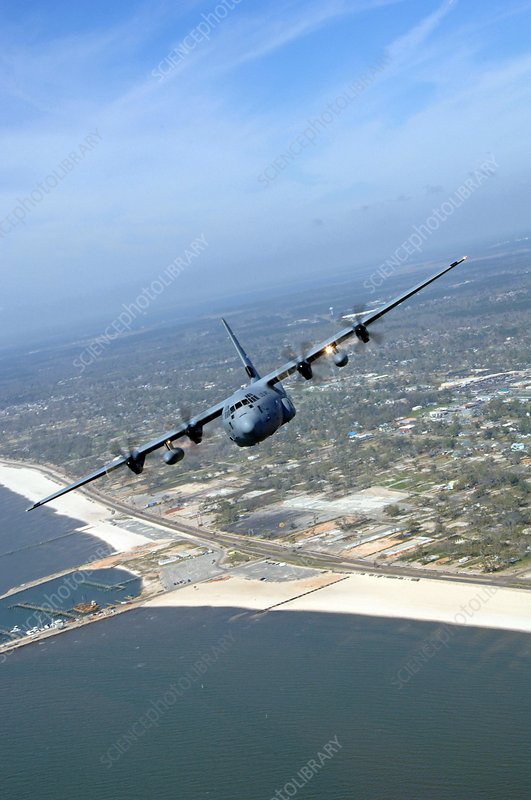 Hurricane Hunters aircraft