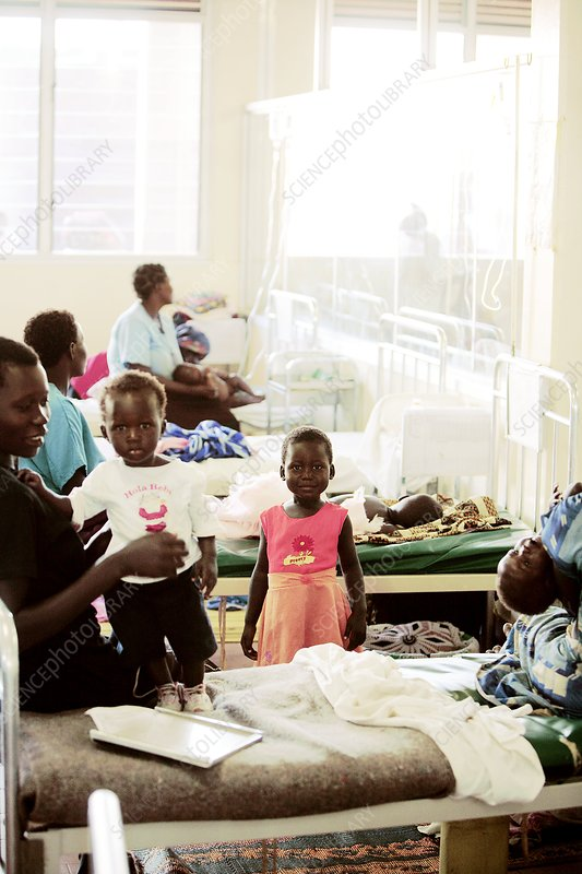 Children's hospital ward, Uganda