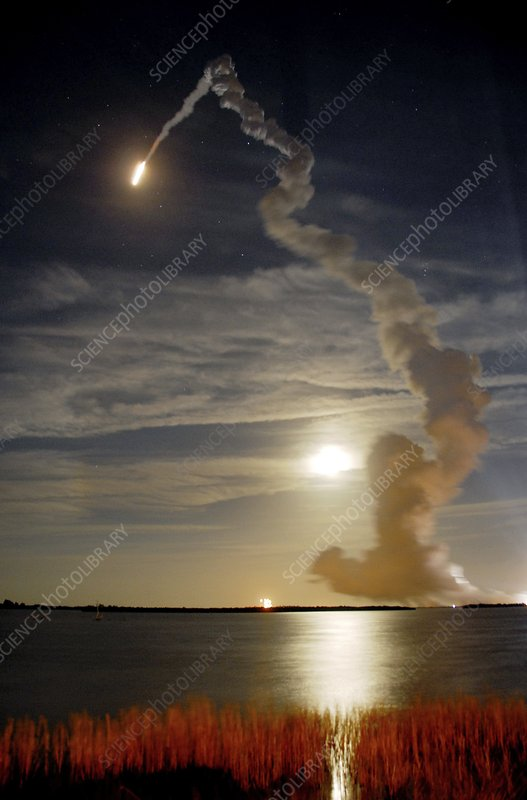 Endeavour shuttle launch, mission STS-126