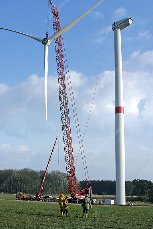 Wind farm construction