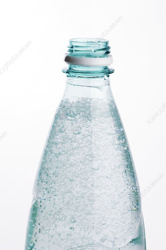 Bottled sparkling water