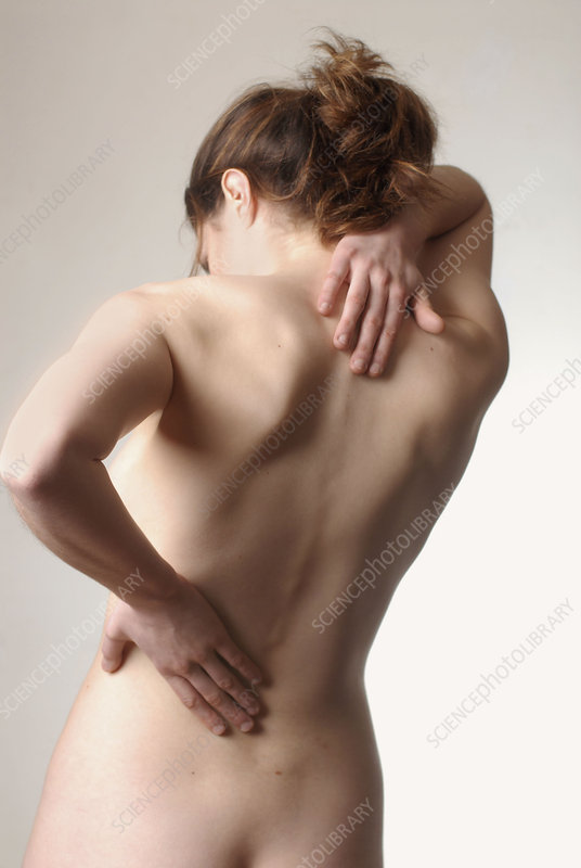 Back pain in a woman
